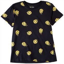 Brooklyn Cloth Big Boys Drippy Smiley T-Shirt
