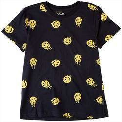 Big Boys Drippy Smiley T-Shirt