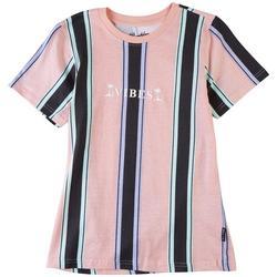 Big Boys Vibes Stripe T-Shirt