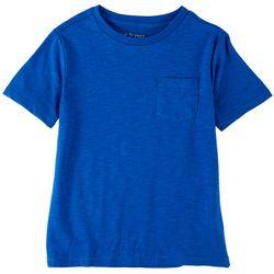 Dot & Zazz Little Boys Heathered Chest Pocket T-Shirt