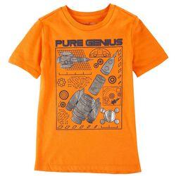 Dot & Zazz Big Boys Pure Genius T-Shirt