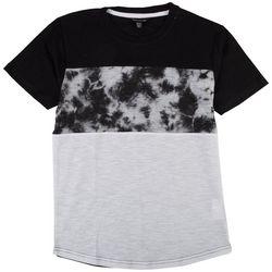 Distortion Big Boys Colorblocked Tie Dye T-Shirt