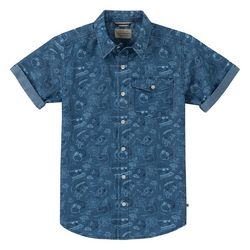 Lucky Brand Big Boys Short Sleeve Surfs Up Shirt