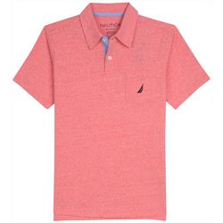 Nautica Little Boys Short Sleeve Oahu Polo Shirt
