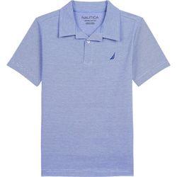 Little Boys Striped Polo Shirt
