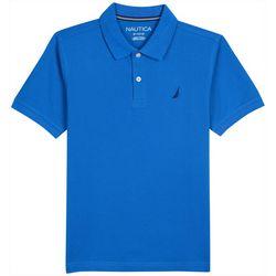 Little Boys Anchor Solid Polo Shirt