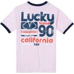 Lucky Brand Big Boys Short Sleeve California T-Shirt