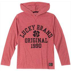 Lucky Brand Big Boys Original 1990 Long Sleeve Hoodie
