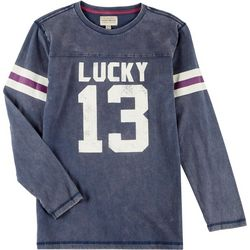 Lucky Brand Big Boys Long Sleeve Lucky 13 T-Shirt