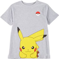 Big Boys Peeking Pikachu T-shirt