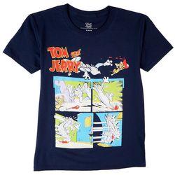 Tom & Jerry Big Boys Character Print T-Shirt