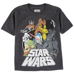 Star Wars Little Boys Character Print T-Shirt