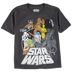Little Boys Character Print T-Shirt