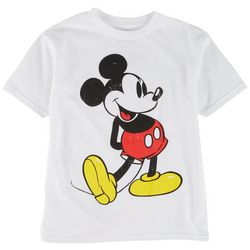 Mickey Mouse Little Boys Classic Character Print T-Shirt