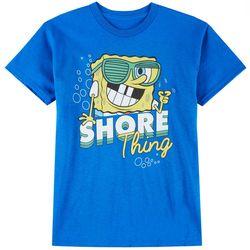 Spongebob Squarepants Big Boys Shore Thing T-Shirt
