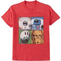 Star Wars Big Boys Four Droids T-Shirt