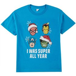 Marvel Avengers Big Boys Super All Year T-Shirt