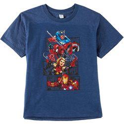 Avengers Big Boys Avengers Action Frame T-Shirt