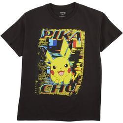Big Boys Pikachu Distortion T-shirt