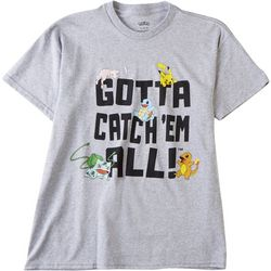 Pokemon Big Boys Gotta Catch 'Em All T-shirt