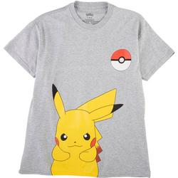 Big Boys Heathered Pikachu T-shirt