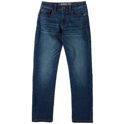 Big Boys Straight Martin Wash Denim Pants