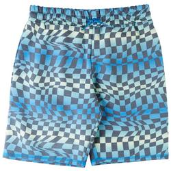 Big Boys Checkered Print Shorts
