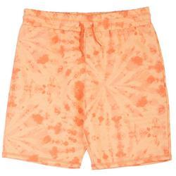 Big Boys Tie Dye Print Shorts