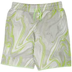 Big Boys Marble Print Shorts