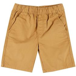 Little Boys Solid Pull On Shorts