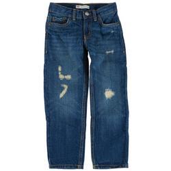 Little Boys 502 Regular Distressed Denim Jeans