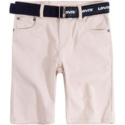 Levi's Big Boys Belted Shorts