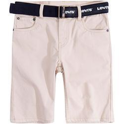 Big Boys Belted Shorts