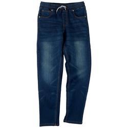 Big Boys Knit Denim Pants