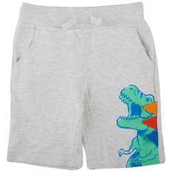 Little Boys Dino Shorts