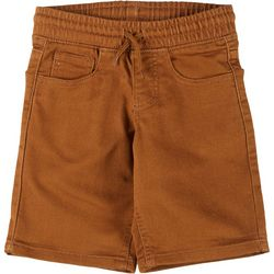 Hollywood Little Boys Pull On Twill Shorts