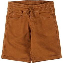 Little Boys Pull On Twill Shorts