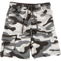 Ocean Current Little Boys Camo Cargo Shorts