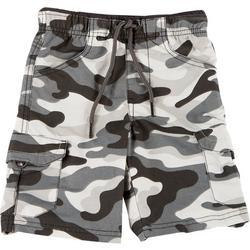 Little Boys Camo Cargo Shorts