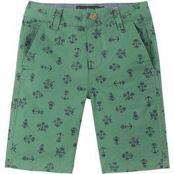Big Boys Anchor Print Three Pocket Shorts
