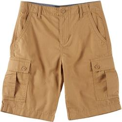 Big Boys Solid Cargo Shorts
