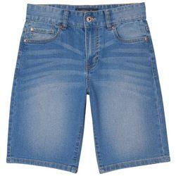 Big Boys Straight Fit Denim Shorts