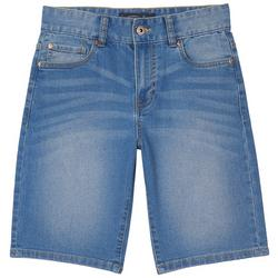 Big Boys Straight Fit Denim Shorts