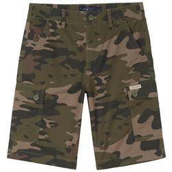 Big Boys Camo Print Cargo Shorts
