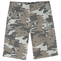 Big Boys Camo Print Cargo Shorts