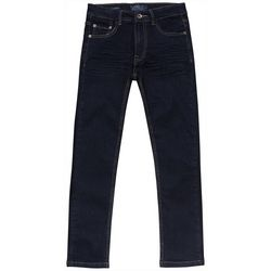 Big Boys Dark Wash 5 Pocket Denim Jeans
