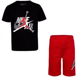 Jordan Little Boys Jumpman Classic Shorts Set