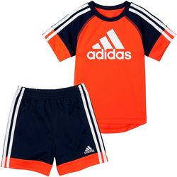 Adidas Little Boys 2-pc. Urban Shorts Set