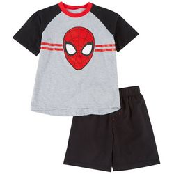Little Boys 2-pc. Screen Print Tee & Shorts Set