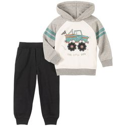 Kids Headquarters Little Boys Cool Little Dude Hoodie Set